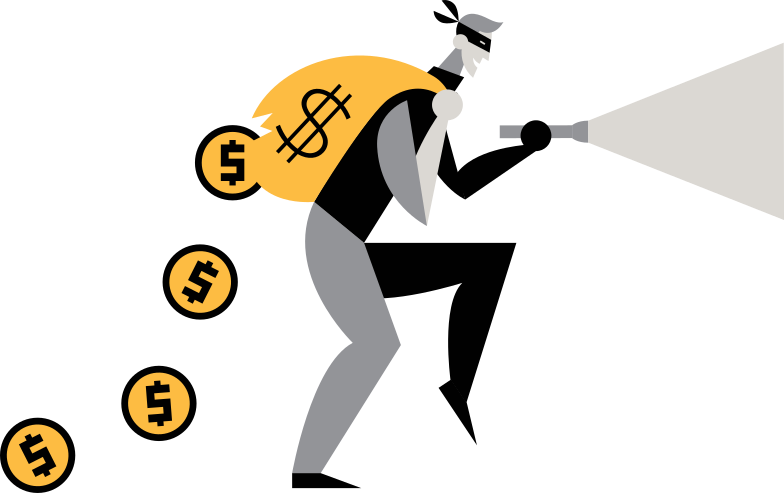 thief Clipart illustration in PNG, SVG