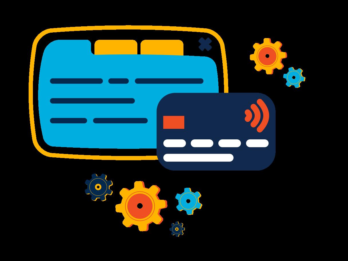 Internet banking Clipart illustration in PNG, SVG