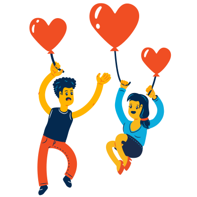 style Love is in the air images in PNG and SVG | Icons8 Illustrations