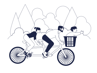 style Family Cycling images in PNG and SVG | Icons8 Illustrations