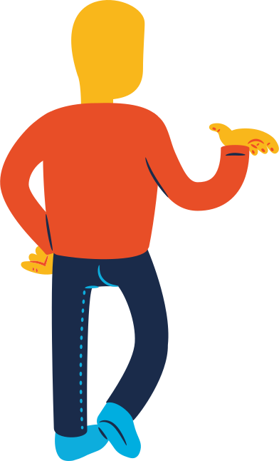 style man standing back profile images in PNG and SVG | Icons8 Illustrations