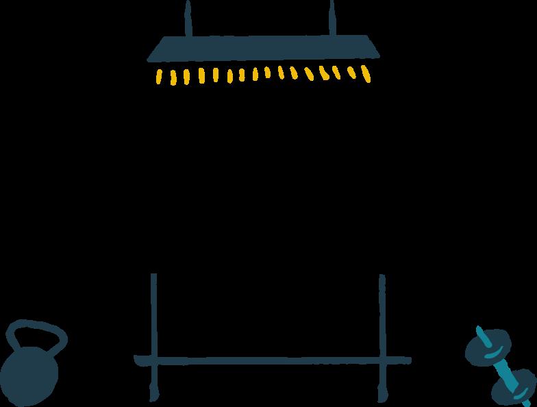 gym Clipart illustration in PNG, SVG