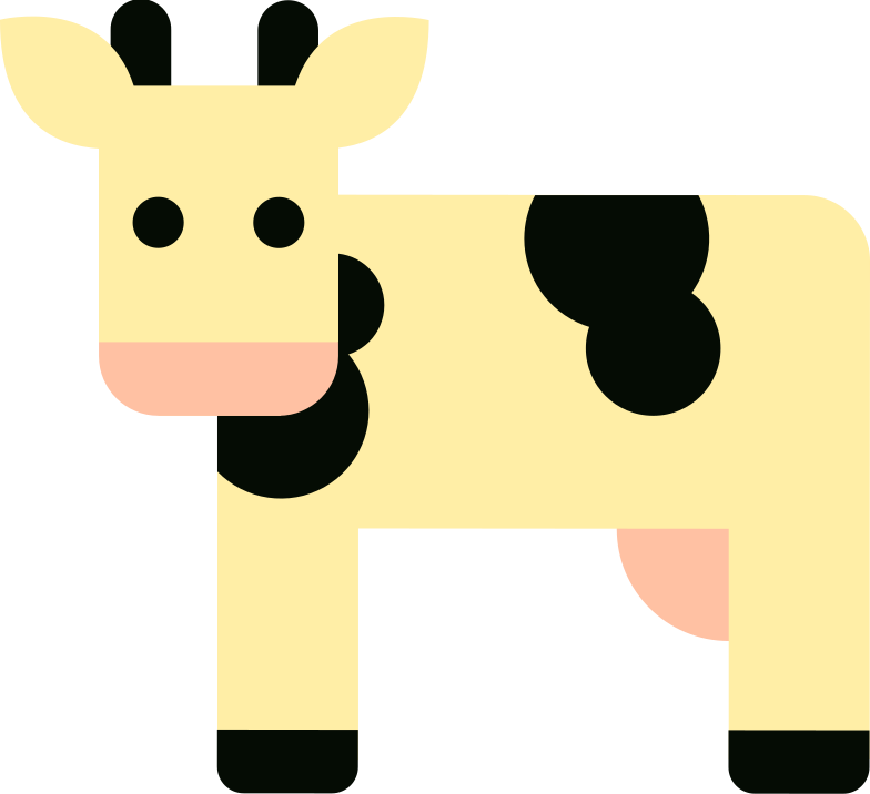 cow Clipart illustration in PNG, SVG