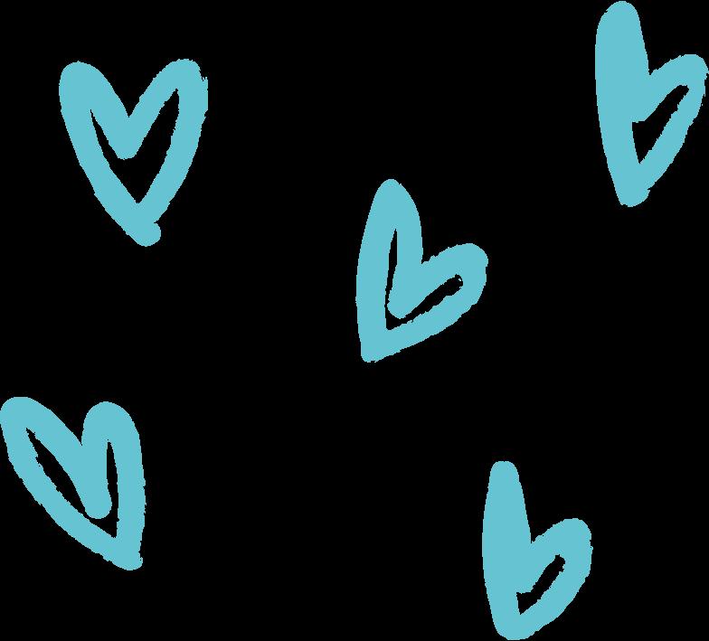hearts Clipart-Grafik als PNG, SVG