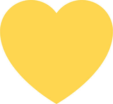style heart yellow images in PNG and SVG | Icons8 Illustrations