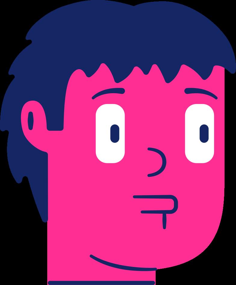 head boy Clipart illustration in PNG, SVG