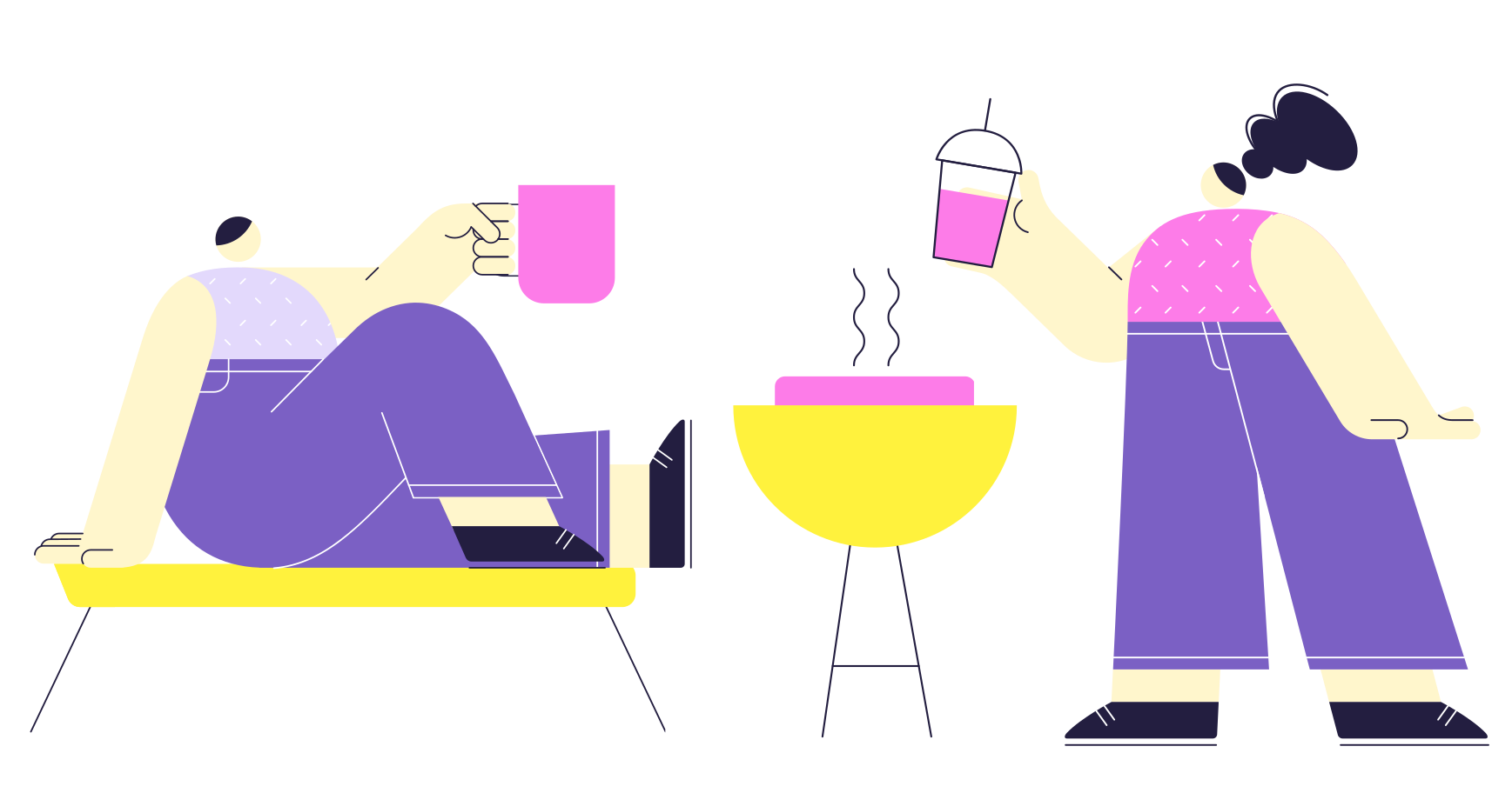 BBQ party Clipart illustration in PNG, SVG