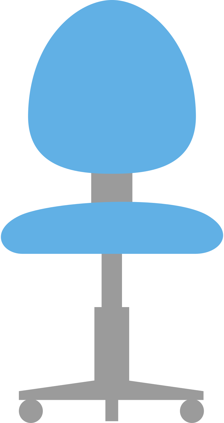 office-chair- Clipart illustration in PNG, SVG