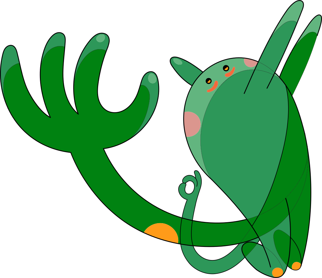 unsubscribe  creature Clipart illustration in PNG, SVG