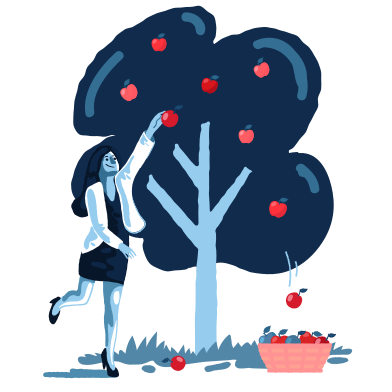 style Pick apples images in PNG and SVG | Icons8 Illustrations