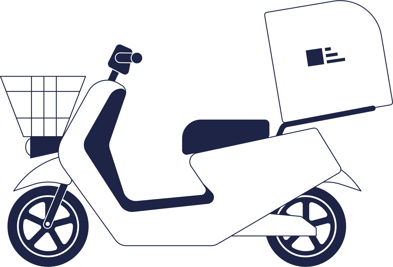 style motorbike delivery Vector images in PNG and SVG | Icons8 Illustrations
