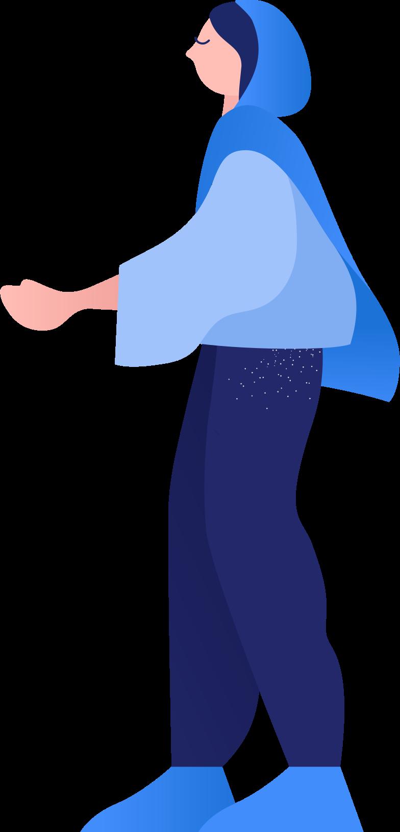 스타일 인도 여성 PNG 및 SVG 형식의 벡터 이미지   Icons8 일러스트레이션