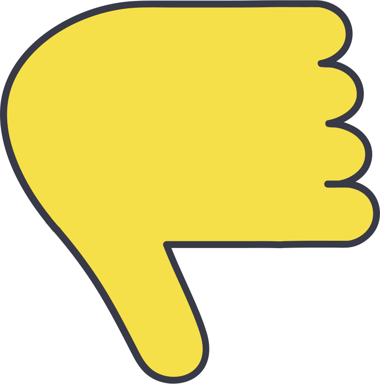 style thumbs down Vector images in PNG and SVG | Icons8 Illustrations