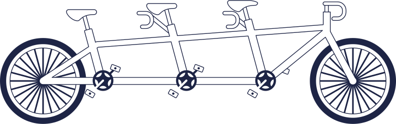 style tandem bycicle line Vector images in PNG and SVG | Icons8 Illustrations