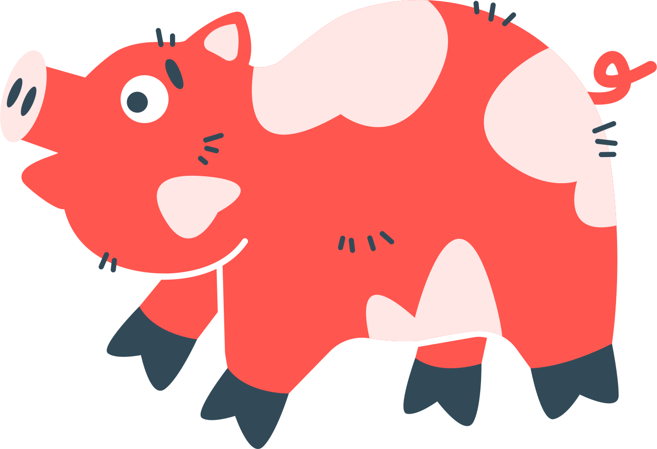 style pig Vector images in PNG and SVG | Icons8 Illustrations