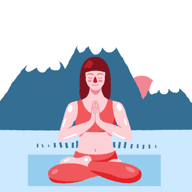 style Outdoor yoga images in PNG and SVG | Icons8 Illustrations