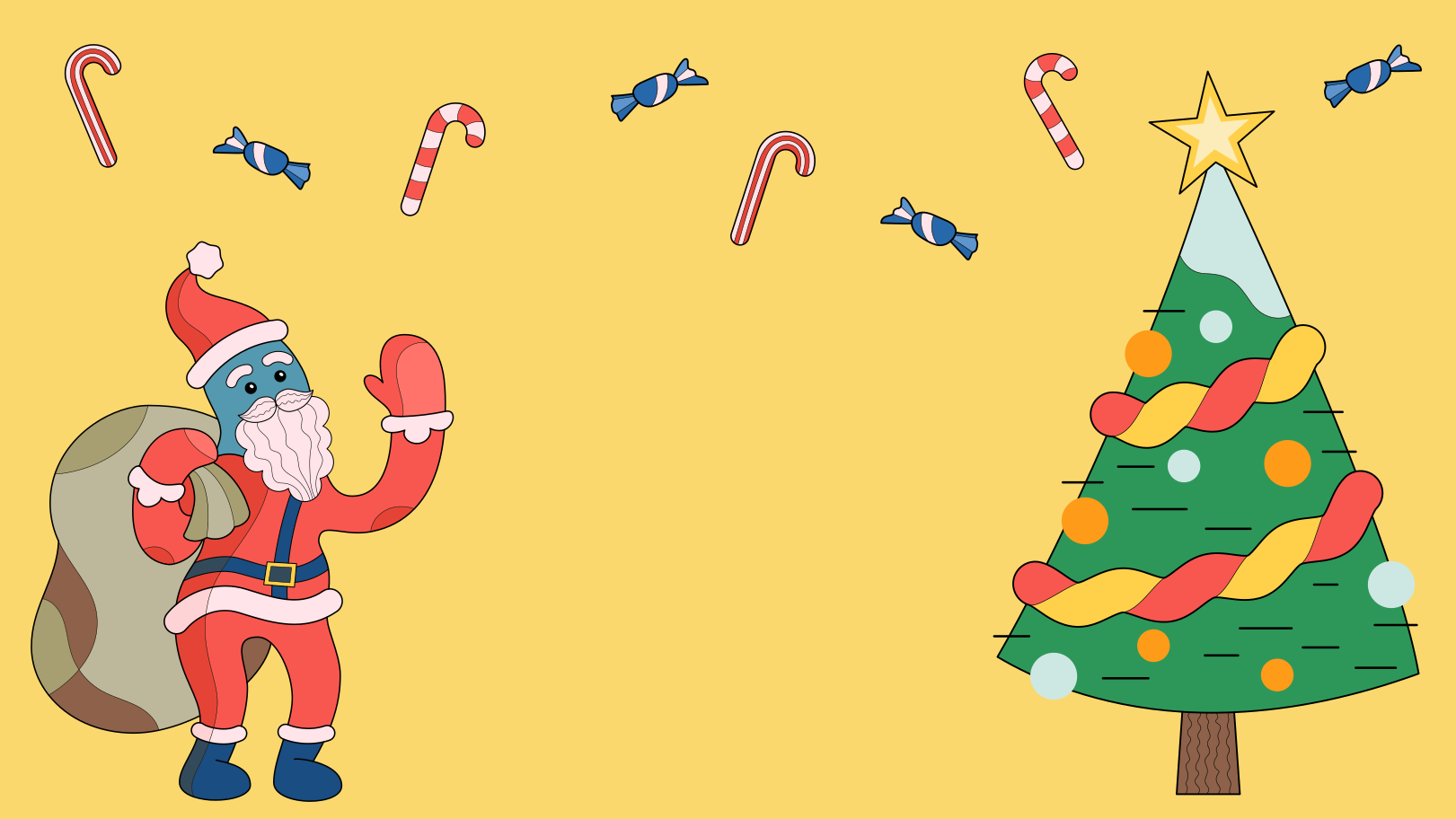 Christmas atmosphere Clipart illustration in PNG, SVG