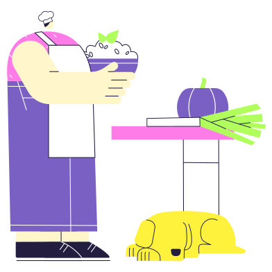 Cook Clipart Illustrations & Images in PNG and SVG