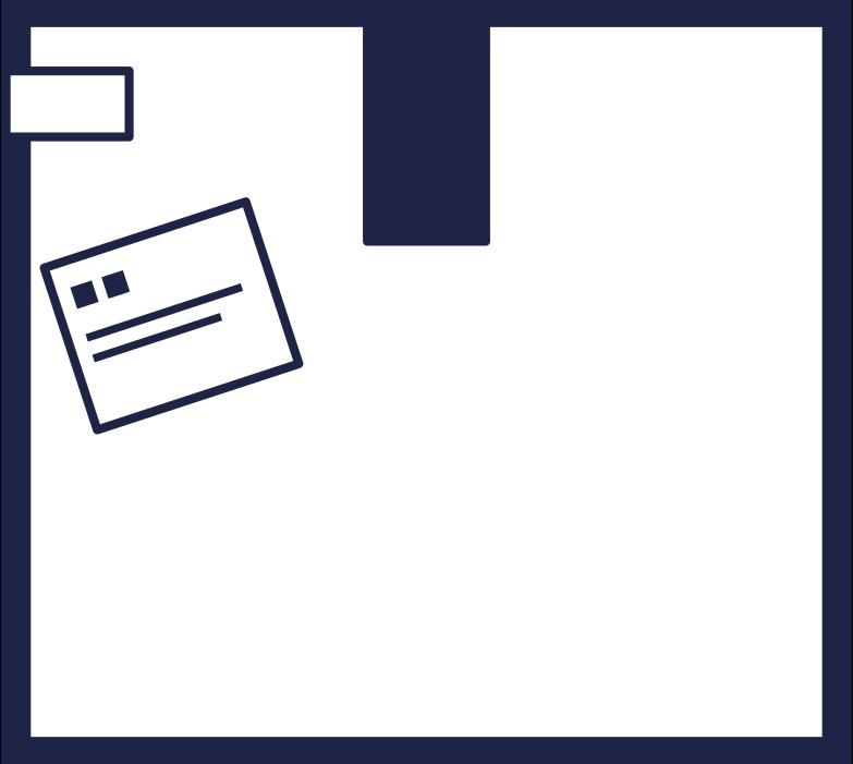 order completed  box 2 line Clipart-Grafik als PNG, SVG