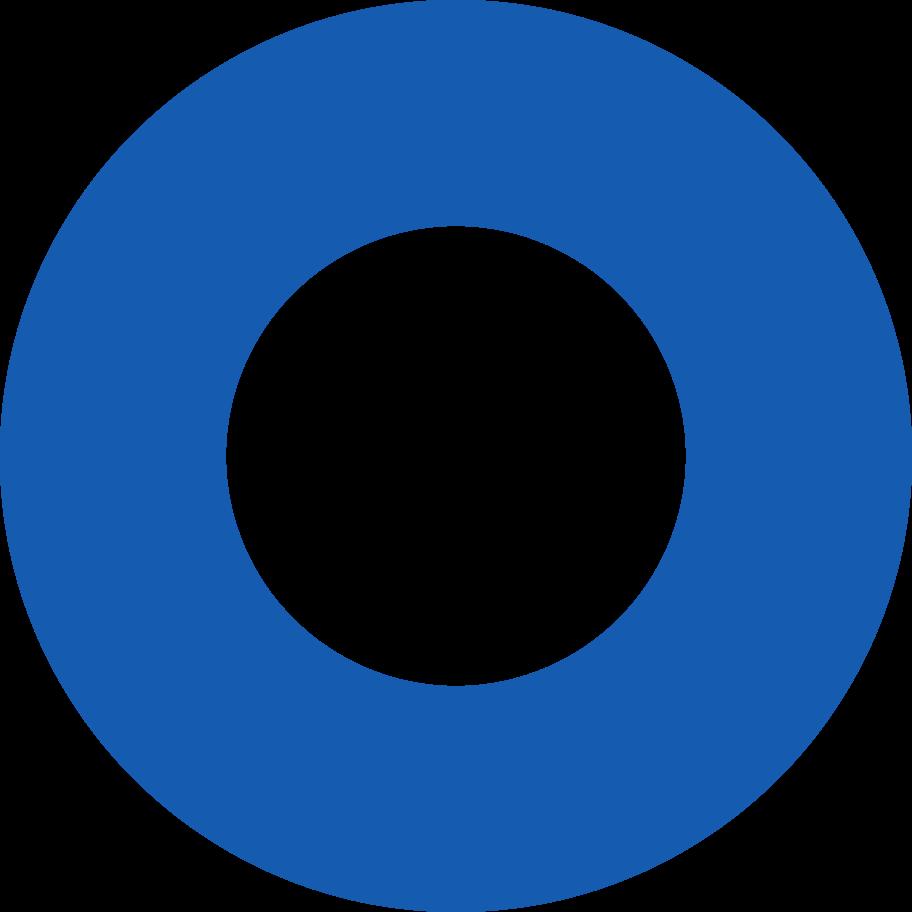 ring-blue Clipart illustration in PNG, SVG
