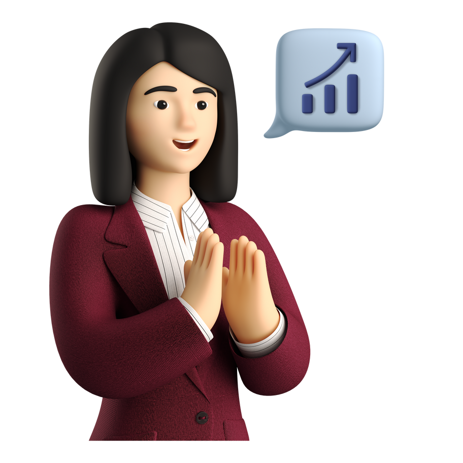 Profit growth Clipart illustration in PNG, SVG
