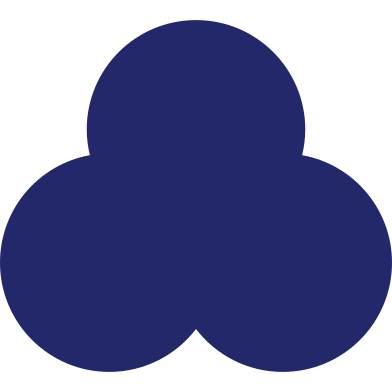style trefoil dark blue images in PNG and SVG | Icons8 Illustrations