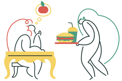 style Junk food images in PNG and SVG | Icons8 Illustrations