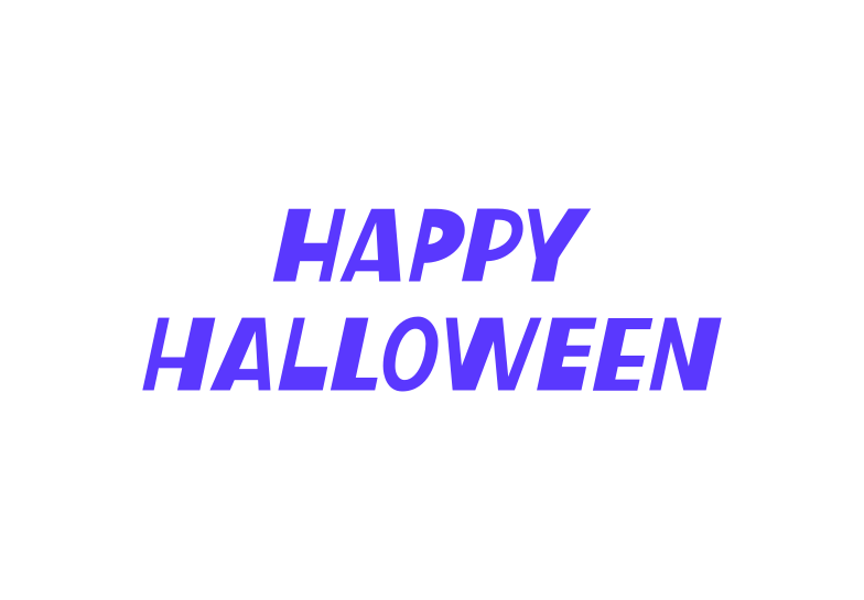 simple happy halloween Clipart illustration in PNG, SVG