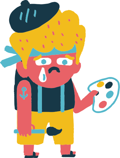 style sad artist images in PNG and SVG   Icons8 Illustrations