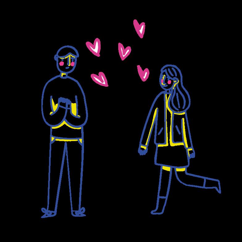恋愛 のPNG、SVGクリップアートイラスト
