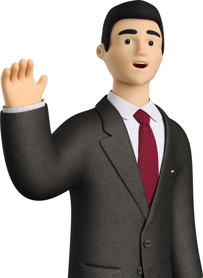 style waving goodbye man Vector images in PNG and SVG | Icons8 Illustrations
