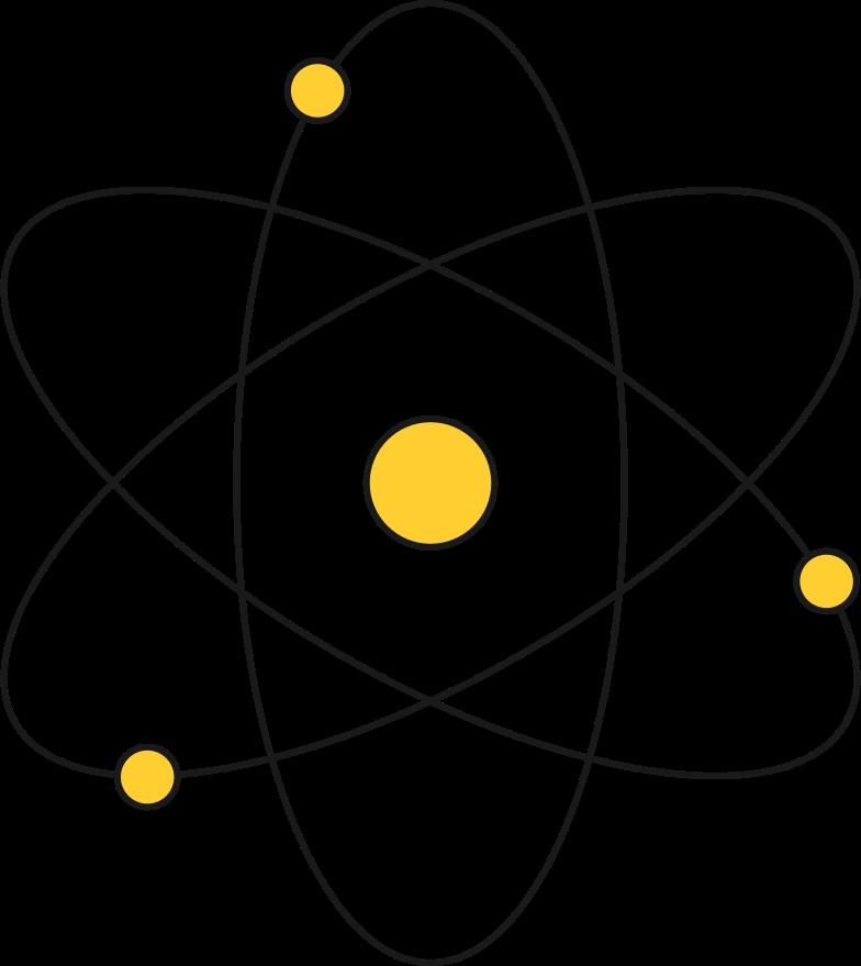 atom Clipart illustration in PNG, SVG