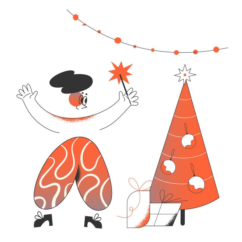 Christmas Clipart illustration in PNG, SVG