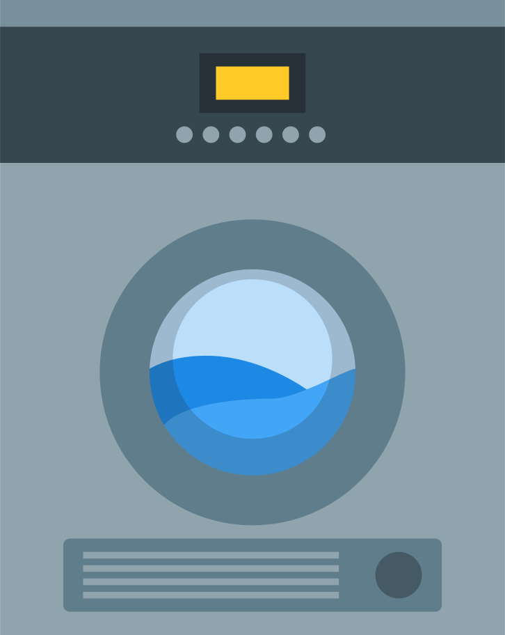 drying machine Clipart illustration in PNG, SVG
