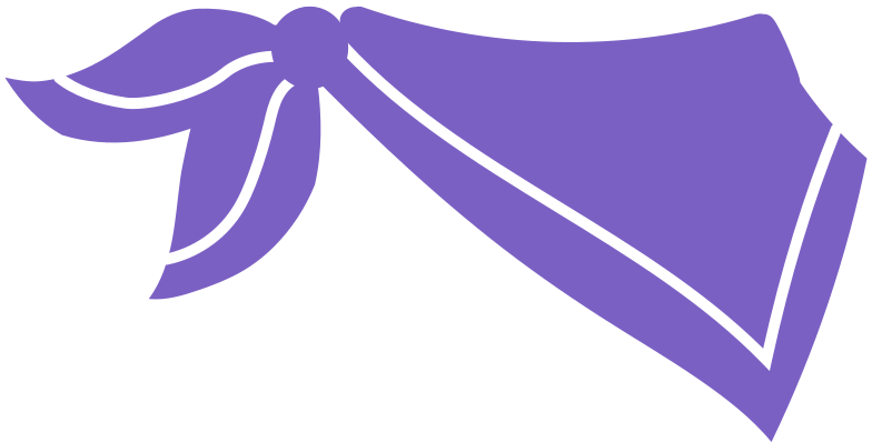 stewardess scarf Clipart illustration in PNG, SVG