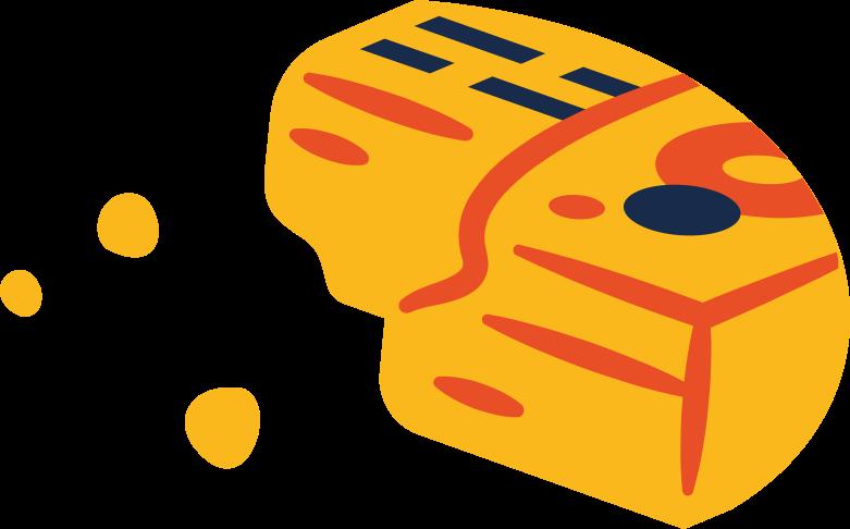 melting documents Clipart illustration in PNG, SVG