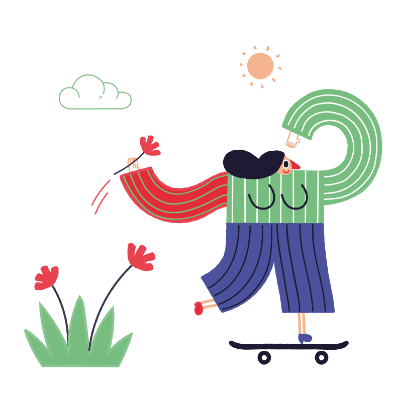 style Skateboarder Vector images in PNG and SVG | Icons8 Illustrations