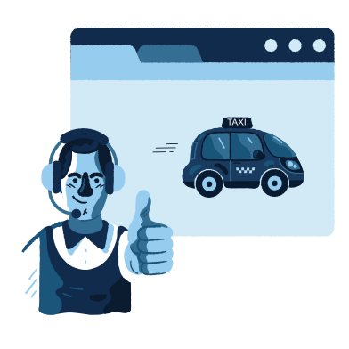 style Taxi service images in PNG and SVG | Icons8 Illustrations