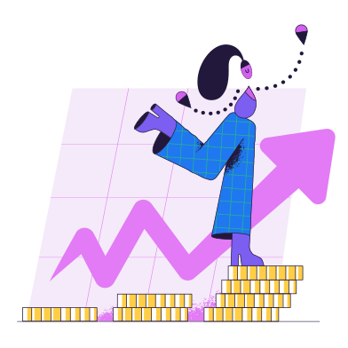 style Finance growth images in PNG and SVG | Icons8 Illustrations