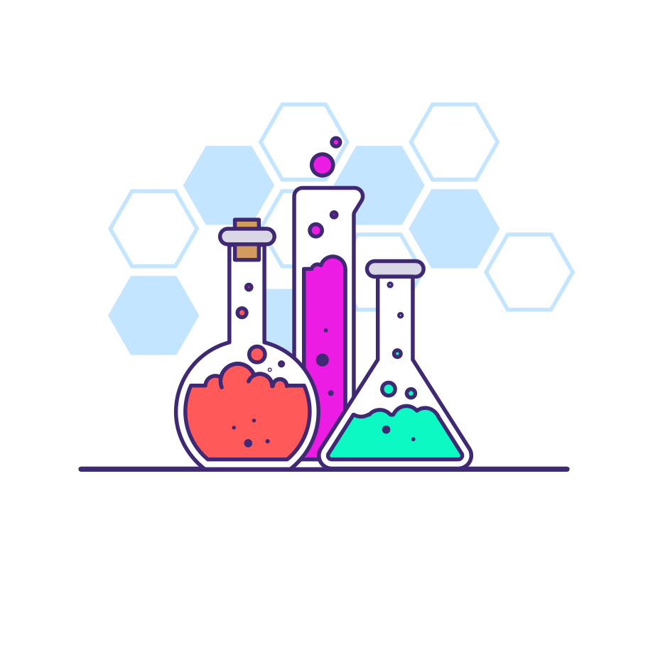 Experiment lab Clipart illustration in PNG, SVG