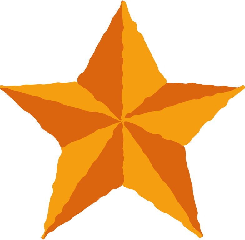 toy star Clipart illustration in PNG, SVG