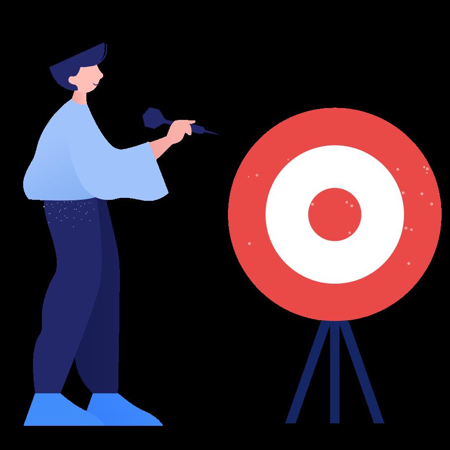 Targeting Clipart illustration in PNG, SVG
