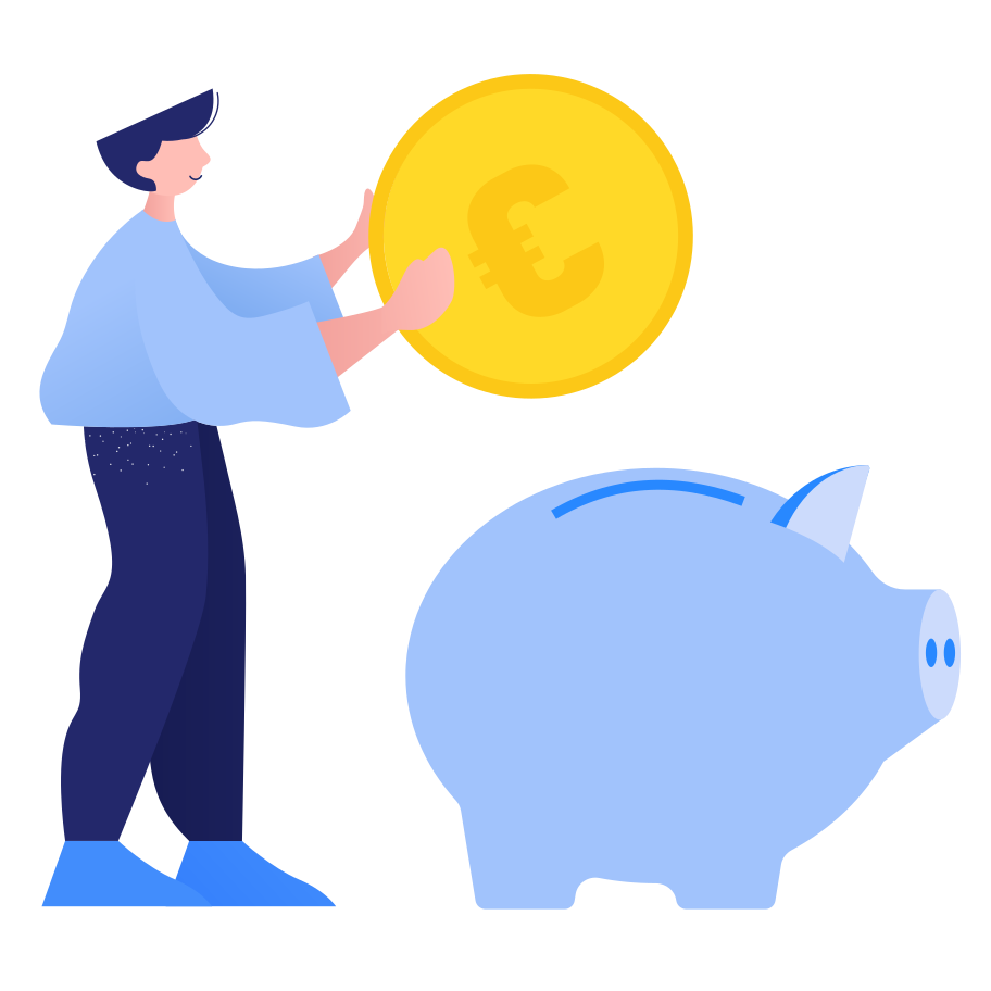 Savings Clipart illustration in PNG, SVG