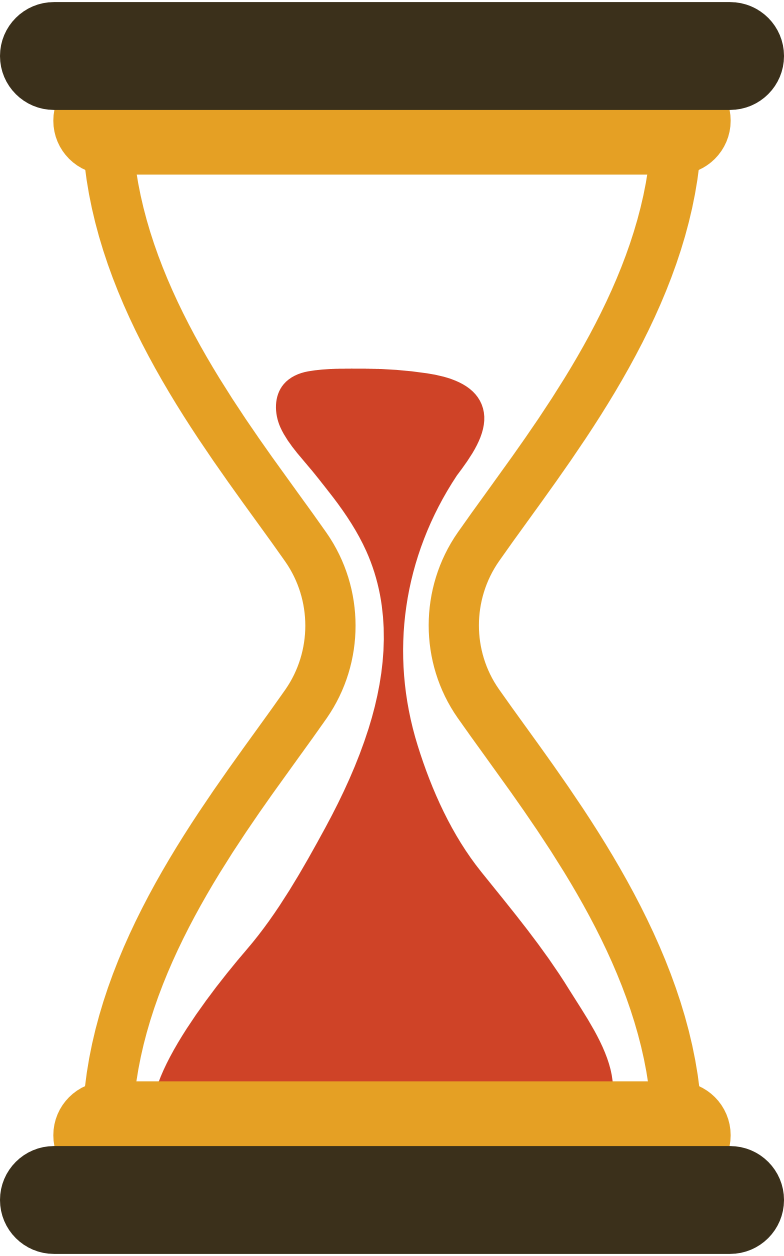 hourglass Clipart illustration in PNG, SVG