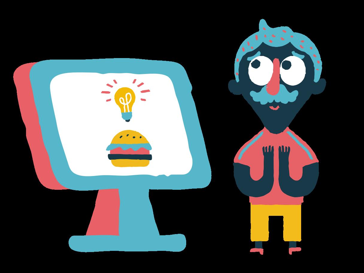 Order's up Clipart illustration in PNG, SVG