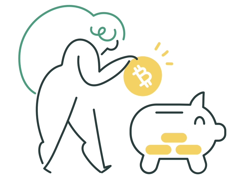 style Bitcoin savings Vector images in PNG and SVG | Icons8 Illustrations