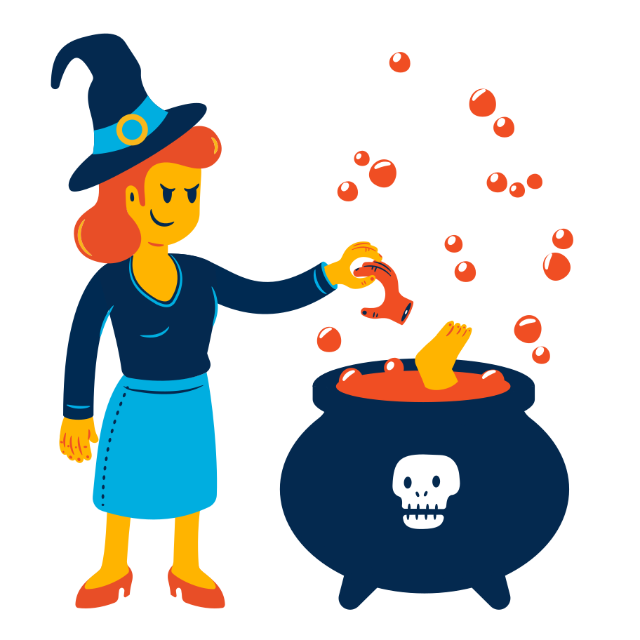 Witchcraft potion Clipart illustration in PNG, SVG