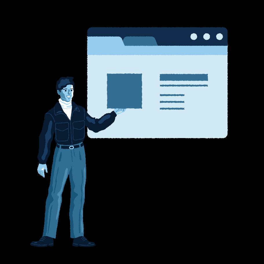 Upload image Clipart illustration in PNG, SVG