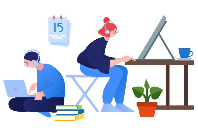 style Coworking Vector images in PNG and SVG | Icons8 Illustrations