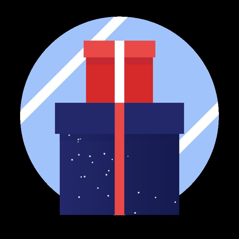 PNGとSVGの  スタイルの クリスマスプレゼント ベクターイメージ | Icons8 イラスト